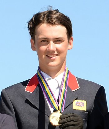 his Pony European Championships gold medal Photo Helen Revington