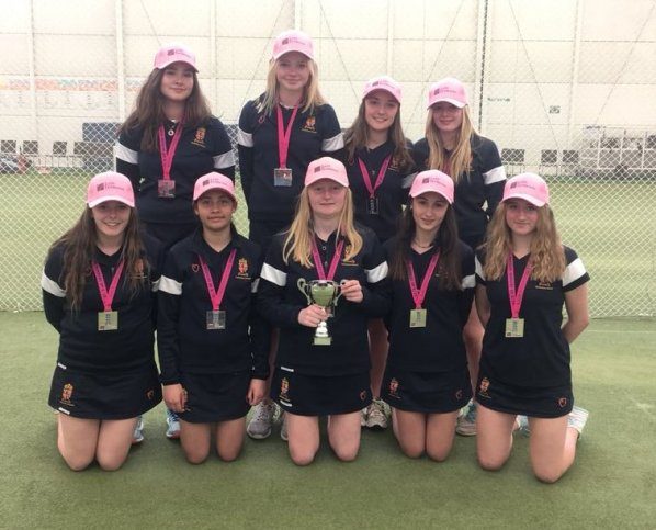 Runners-Up in the Lady Taverners' National U15s Indoor Cup 2017 and 2018