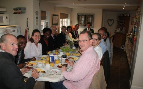 Third Form Parents' House Breakfast at the end of Foundation Fortnight