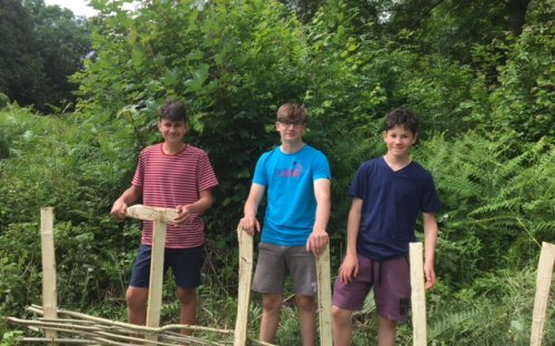 Third Form outdoor week 2018