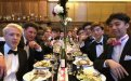 School House class of 2018 celebrate their last day of lessons with the traditional black tie Leavers' Supper