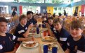 New Third Formers having supper - Day 3, September 2017