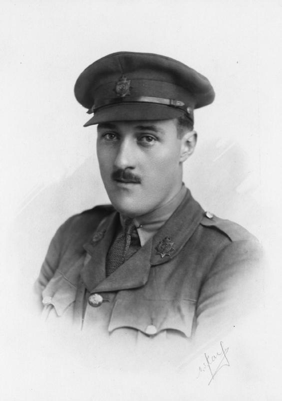 Lieutenant John Cooke (image courtesy of the Imperial War Museum)