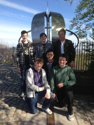 GCSE Astronomy trip to Greenwich Royal Observatory April 2013