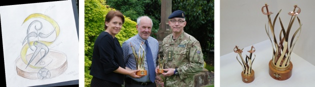 Whiteside Trophy with Craig Stanhope, CDT Dept