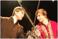 Rory Fraser & Alessandro Rebecchi in Churchill's House Play 'The Yorkshire Tragedy' March 2011