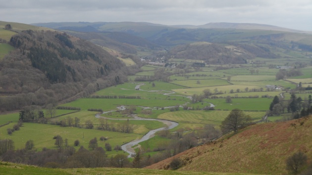A view from Offa's Dyke