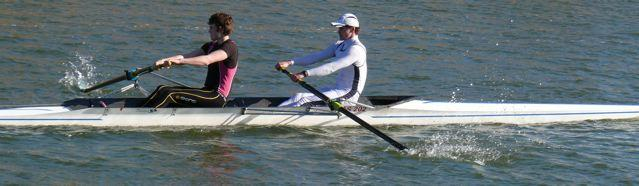 Fred Day (Bow)  in the GB Trials 2012