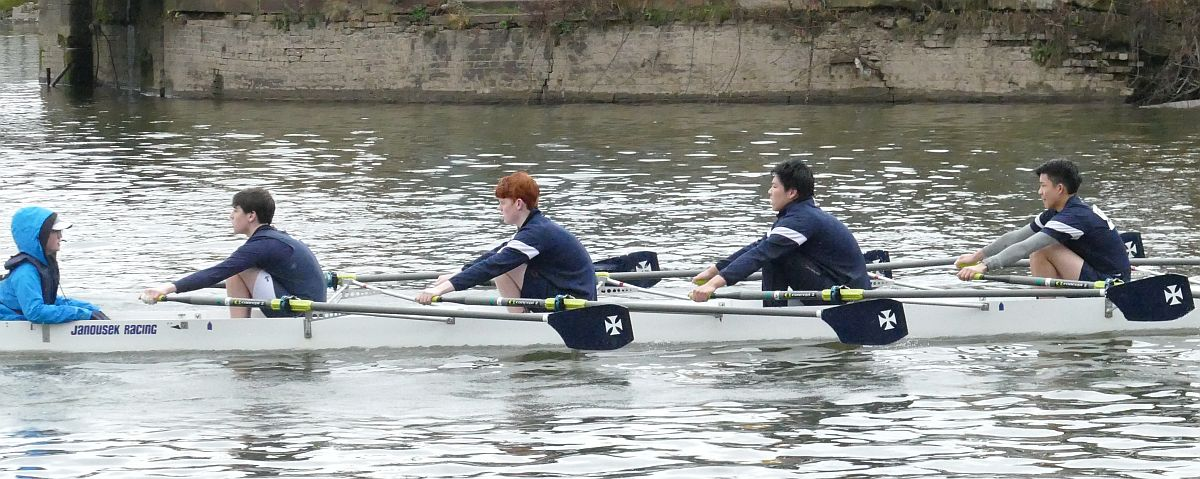 J15 4X at the West Midlands Junior Championships
