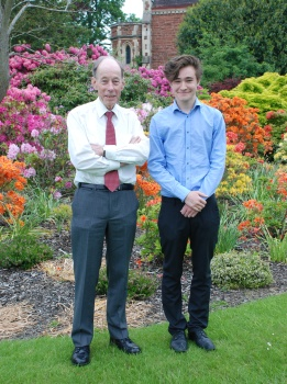Sir Michael Simmons and Alex Walker, 6th June 2013