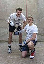 Jack Hudson-Williams and Henry Lewis, U21 Champions 2012